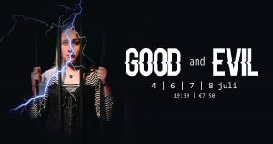 GOOD AND EVIL. Uitvoering productie lesklas musical van Theaterschool Westelijke Mijnstreek
