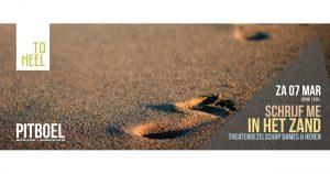 """Theatergezelschap DAMES & HEREN speelt """"Schrijf me in het zand"""""""