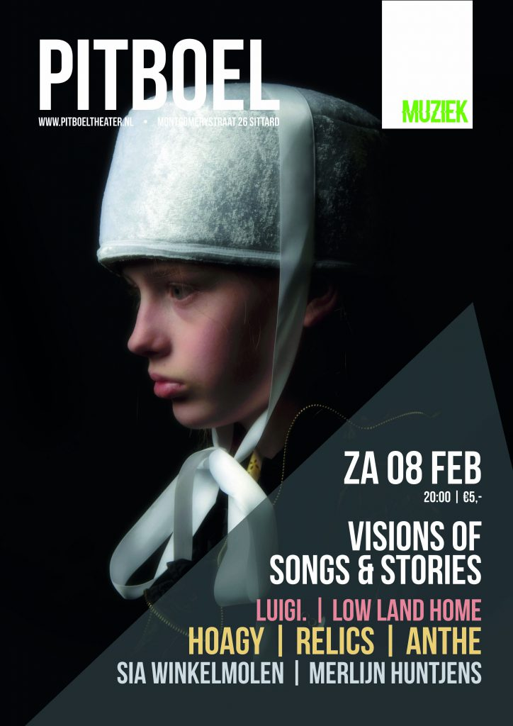 Visions of songs & stories. 8 februari 2020 Pitboel Theater