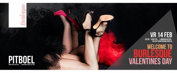 Burlesque show door Puur Lydia. vrijdag 14 februari 2020. Pitboel Theater,