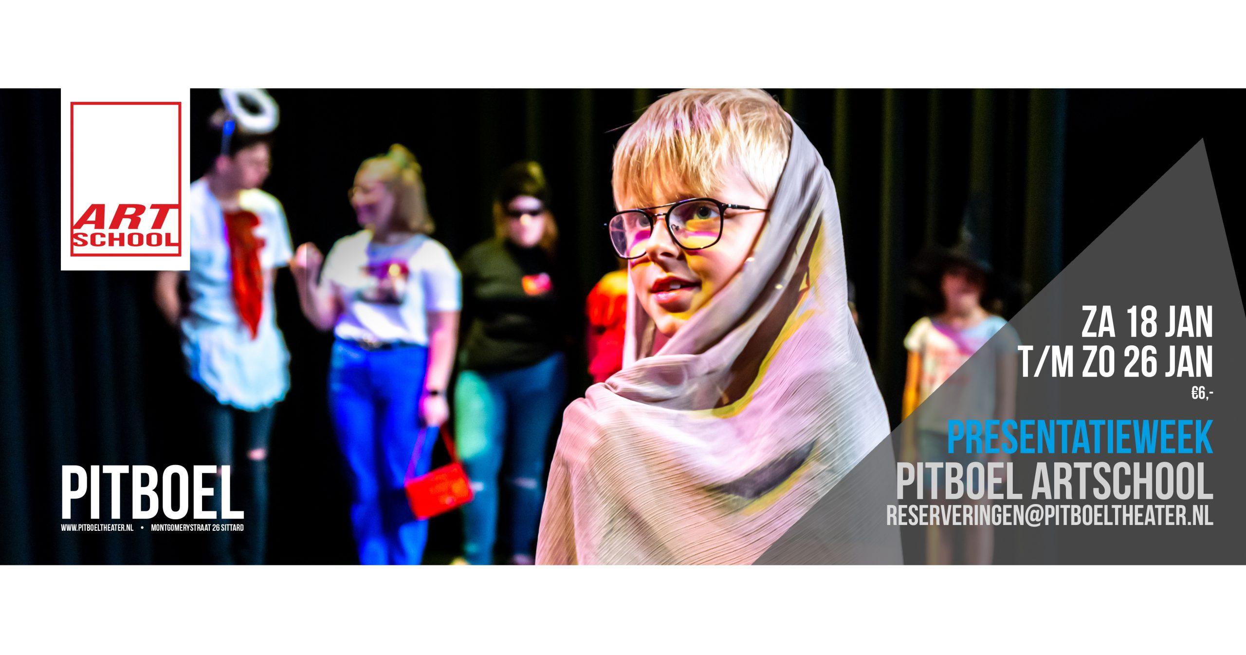 Pitboel Art School presentatieweek januari 2020