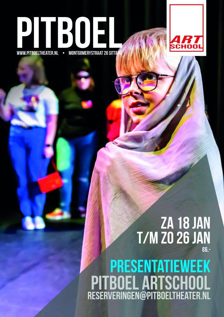 Presentatieweek Pitboel Art School, januari 2020