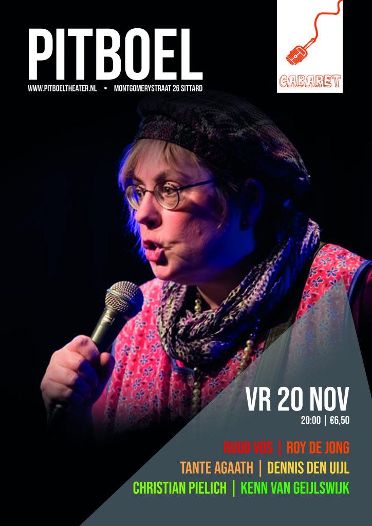 humor in sittard 20 november pitboel theater