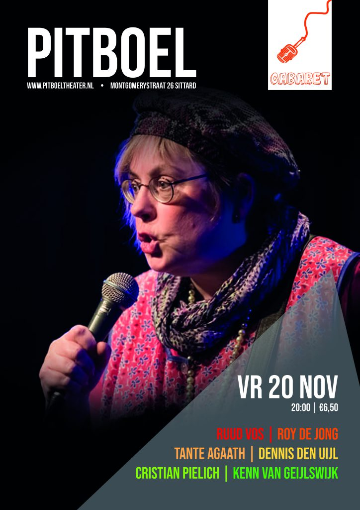 Humor in Sittard, 20 november 2020 in Pitboel Theater