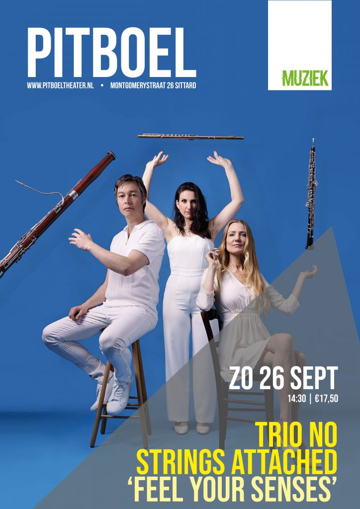 No Strings Attached in Pitboel Theater zo 26 september 2021