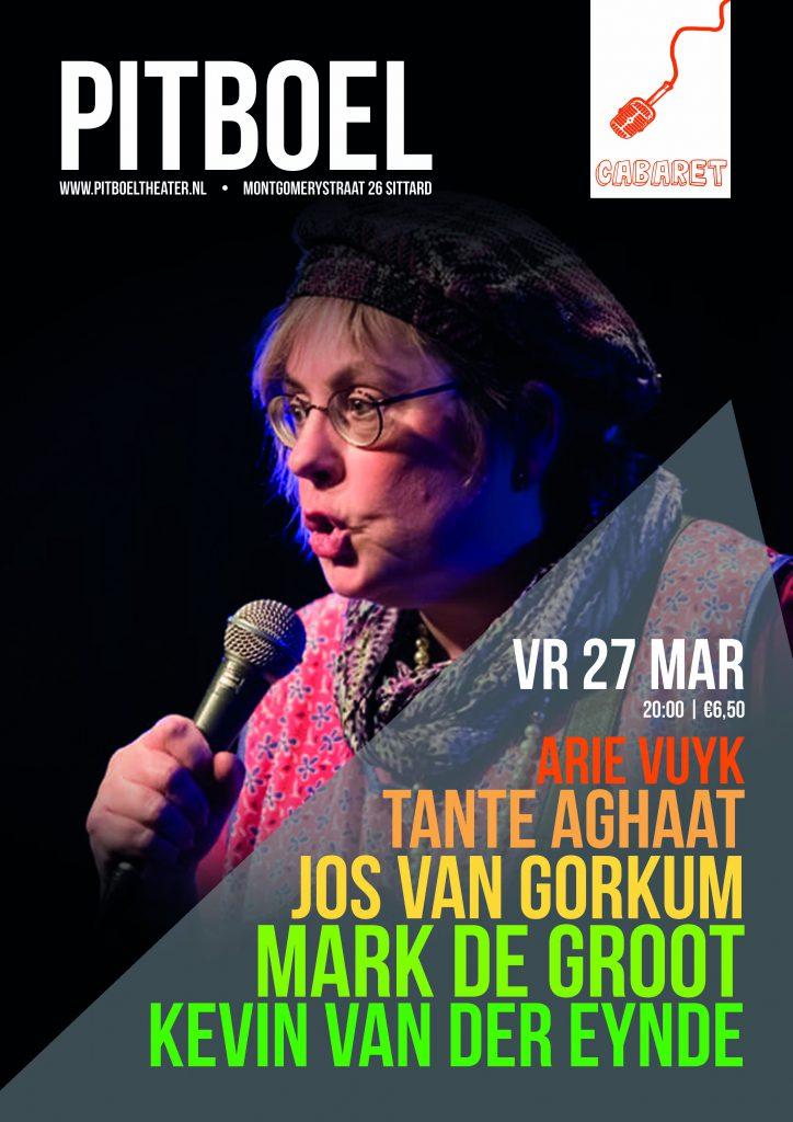 Humor in Sittard. 27 maart 2020. Pitboel Theater