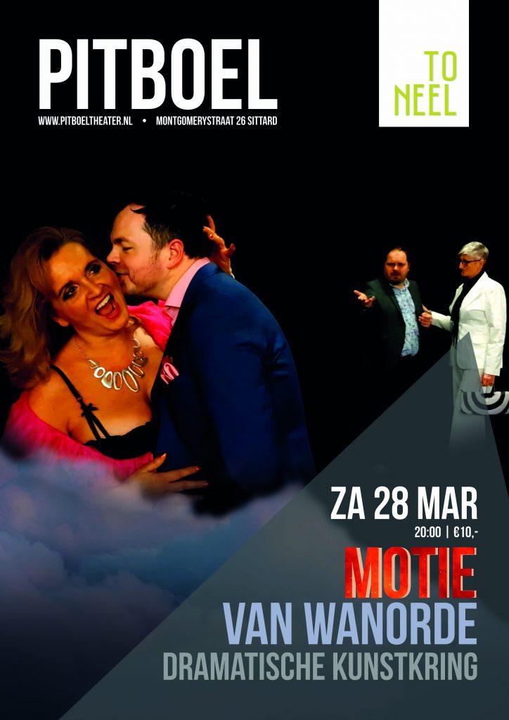 Dramatische KLunstkring in Pitboel Theater 28 maart 2020.