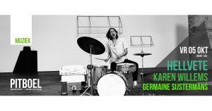 Improv Jam met Germaine Sijstermans, Maya Felixbrodt en Mike Kramer