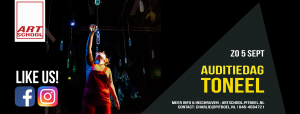 Auditie dag Theaterschool toneel