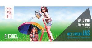 """Pien, Puk & Co kindertheater met de voorstelling """"Met zonder jas"""""""