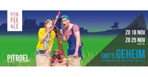 """Pien, Puk & Co kindertheater met de voorstelling """"Sint's geheim"""""""