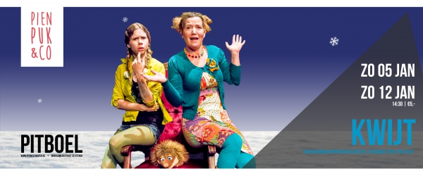 pien, puk & Co januari 2020 pitboel Theater