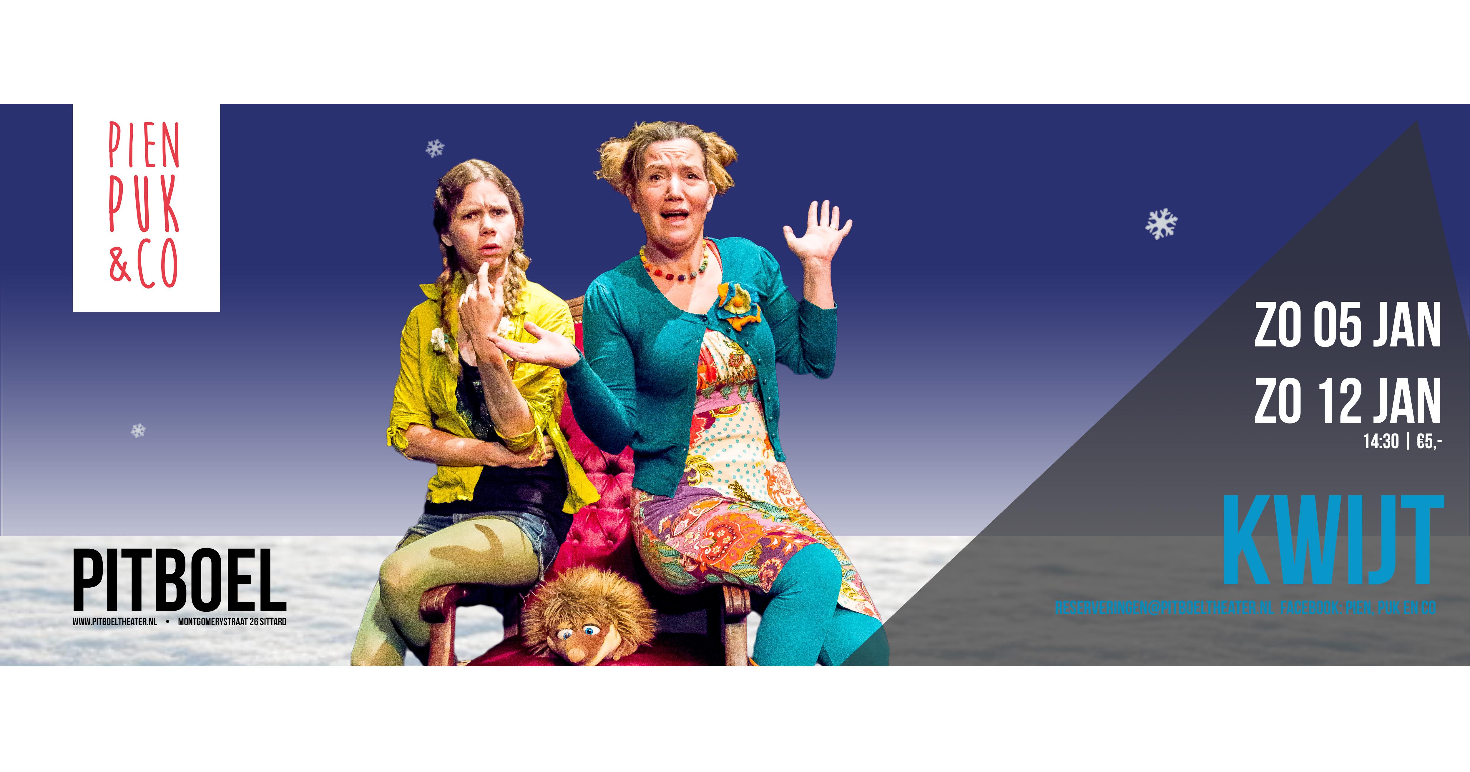 pien, puk & Co januari 2020 pitboel Theater