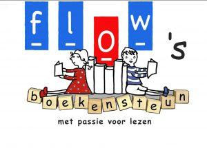 Kinderboekenweek Kindertheatervoorstelling support door Flow Boekensteun