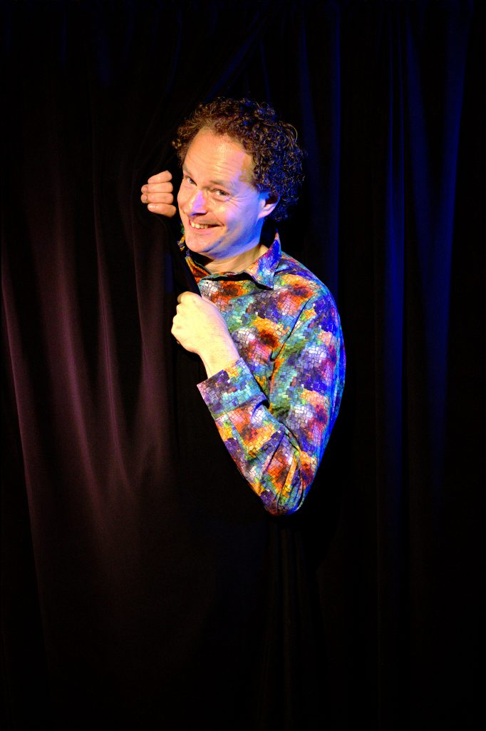 Arie Vuyk 27 maart Humor in Sittard Pitboel Theater