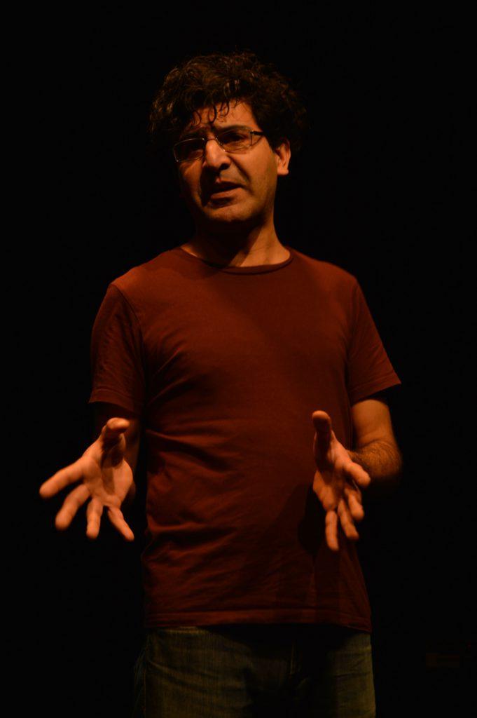 Hermes Ahmadi. Cabarette-ketet 2020. Pitboel Theater.