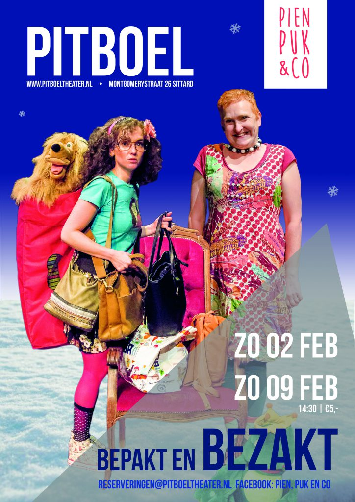 Pien, Puk & Co februari 2020 Pitboel Theater.