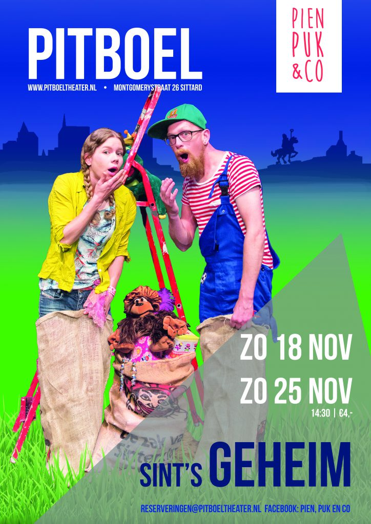 Pien puk en Co zondag 25 november 2018 Pitboel Theater Sittard