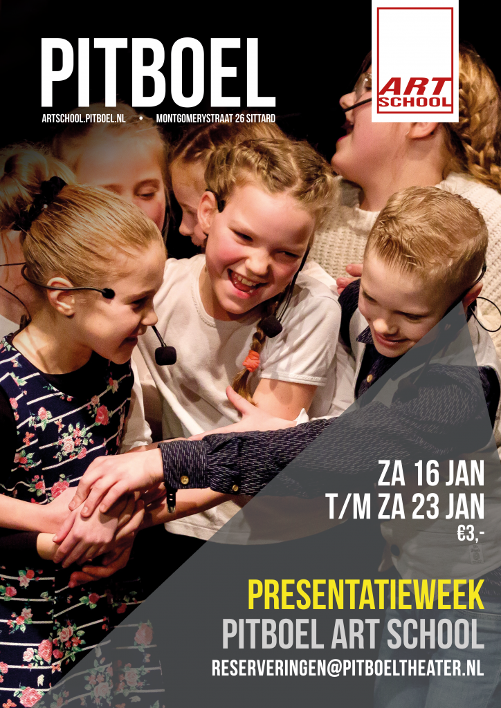 Pitboel Art School. Presentatieweek januari 2021.
