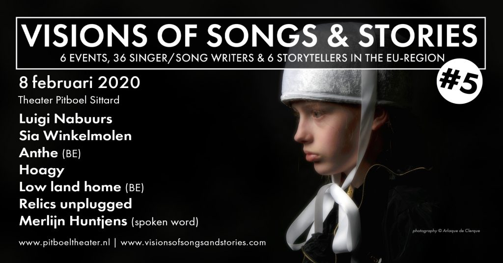 vision of songs & stories. Pitboel Theater. 8 februari 2020