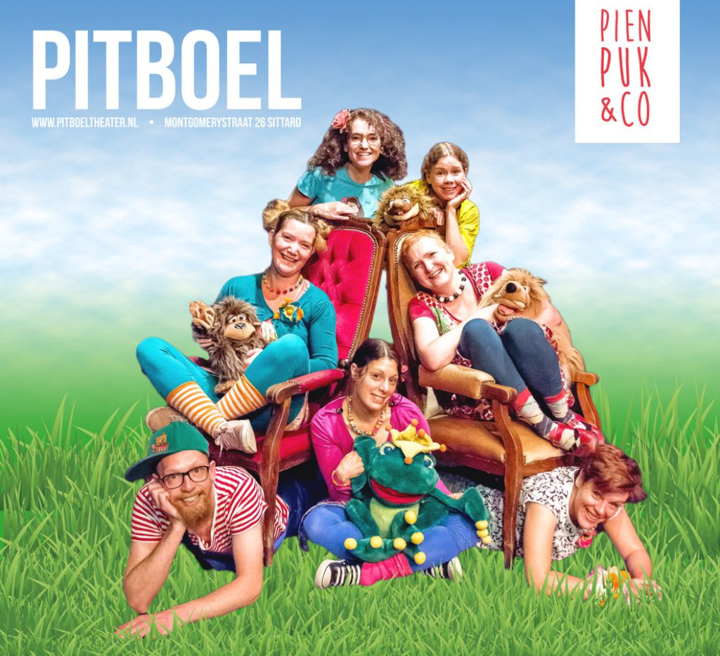 Pien, Puk & Co kindertheatervoorstellingen. Pitboel Theater Sittard