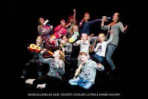 musicallesklas 3AB. Pitboel Art School. 2018-2019. Sittard-Geleen.
