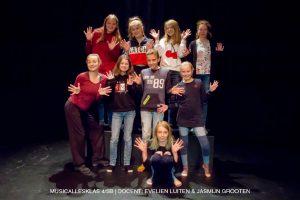 Musicallesklas 4/5B Pitboel Art School.2018-2019. Sittard-Geleen