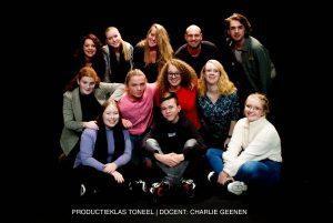 Productie klas Toneel. Pitboel Art School 2018-2019. Sittard-Geleen