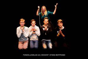 toneellesklas 5A Pitboel Art School 2018-2019 Sittard-Geleen