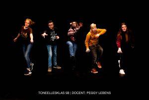 Toneellesklas 5B Pitboel Art School. 2018-2019 Sittard-Geleen