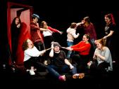 Presentatie week Theaterschool Westelijke Mijnstreek, Toneellesklas 6A/B & Musicallesklas 4/5B