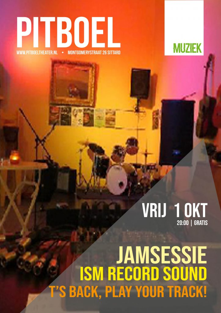 jamsessie ism Record Sound in Pitboel Theater 1 oktober 2021